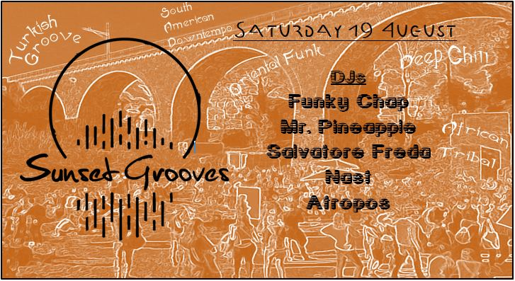 Sunset Grooves : Launch Party
